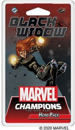 New Product Announcement - Marvel Champions: Black Widow Hero Pack (MC07)