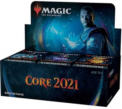 Magic: The Gathering Core Set 2021 Booster Pack Box (36 Packs of 15 Cards)