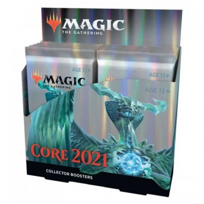 Magic: The Gathering Core Set 2021 Collector Booster Box (12 Packs of 15 Cards)