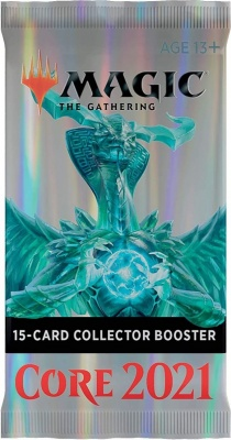 Magic: The Gathering Core Set 2021 Collector Booster (Single Pack)