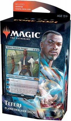 Magic: The Gathering Core Set 2021 Planeswalker Deck - Teferi