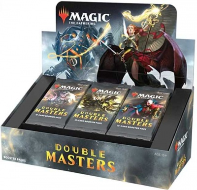Magic: The Gathering Double Masters Draft Booster Box (24 Packs of 15 Cards)