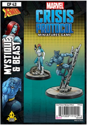 Marvel Crisis Protocol: Beast and Mystique