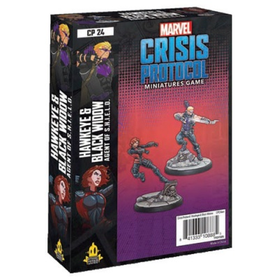 Marvel Crisis Protocol: Black Widow and Hawkeye
