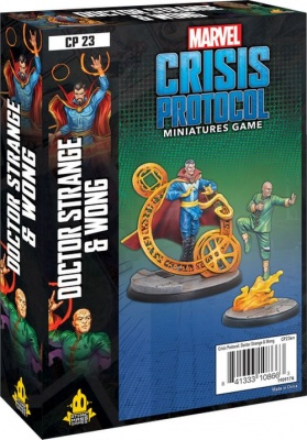Marvel Crisis Protocol: Dr Strange and Wong