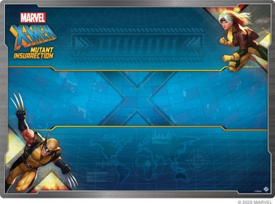 X-Men: Mutant Insurrection Game Mat